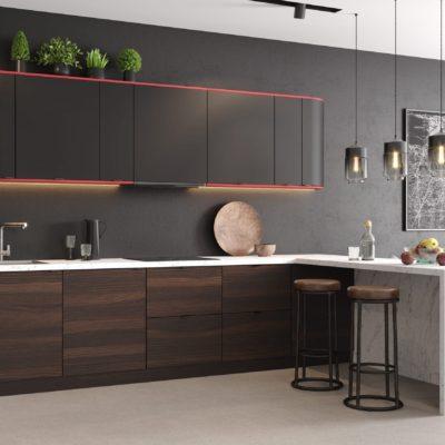 Кухня Interium Модерн.138 - дизайн интерьера