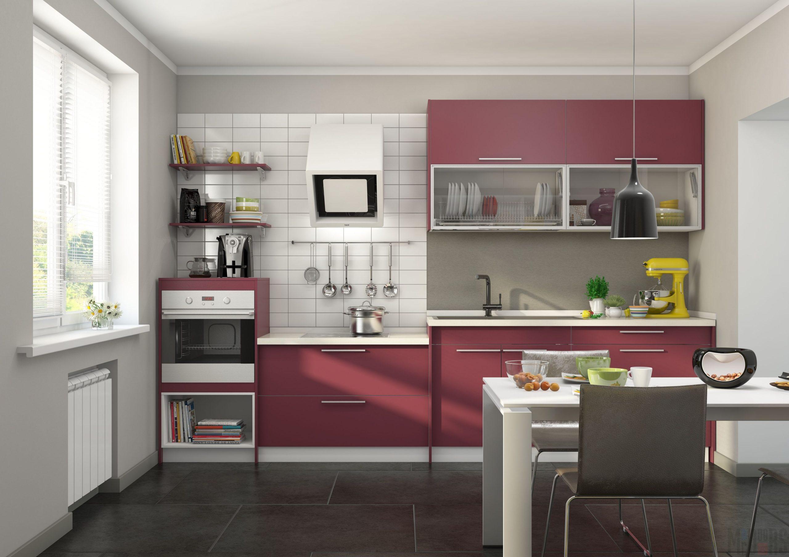 Кухня Interium Модерн.09 - яркий дизайн