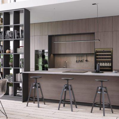 Кухня Interium Модерн.146 - оригинальный дизайн