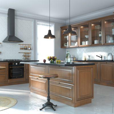 Кухня Interium Классика.37 - удобно и элегантно