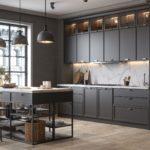 Кухня Interium Модерн.116 - цветовая гамма