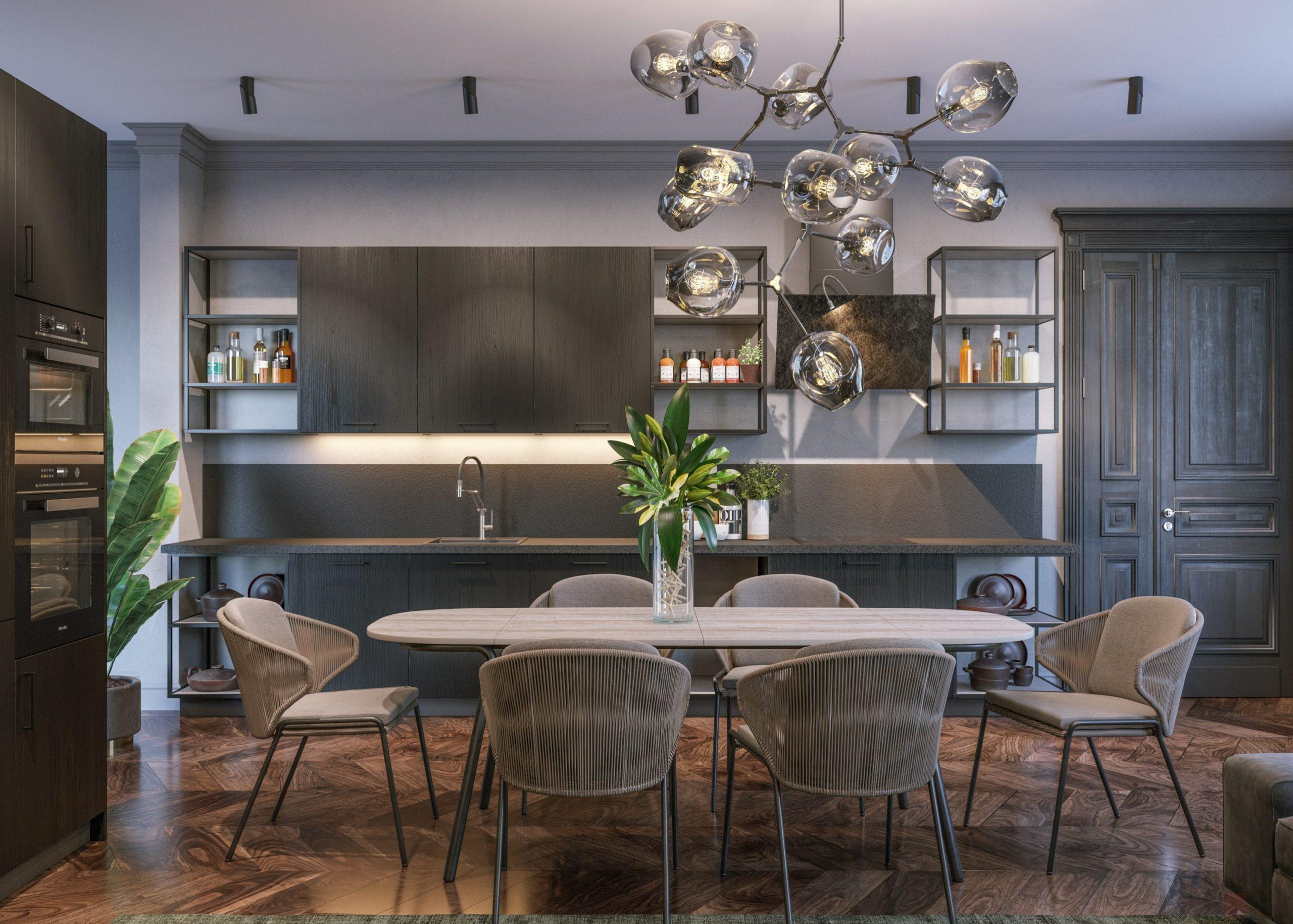 Кухня Interium Модерн.112 - дизайн
