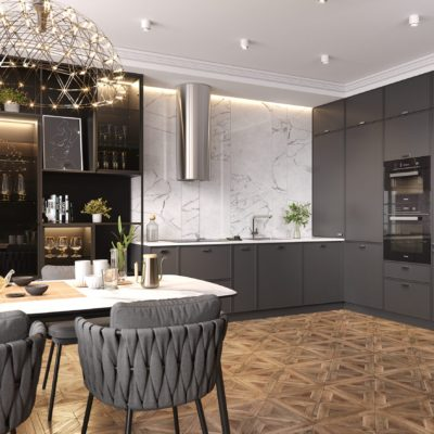 Кухня Interium Модерн.131 - стильный дизайн