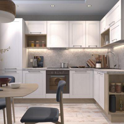 Кухня Interium Модерн.134 - дизайн интерьера