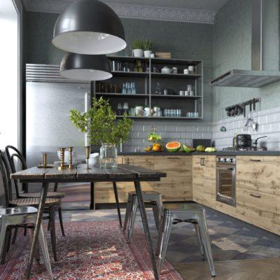 Кухня Interium Модерн.136 - дизайн интерьера