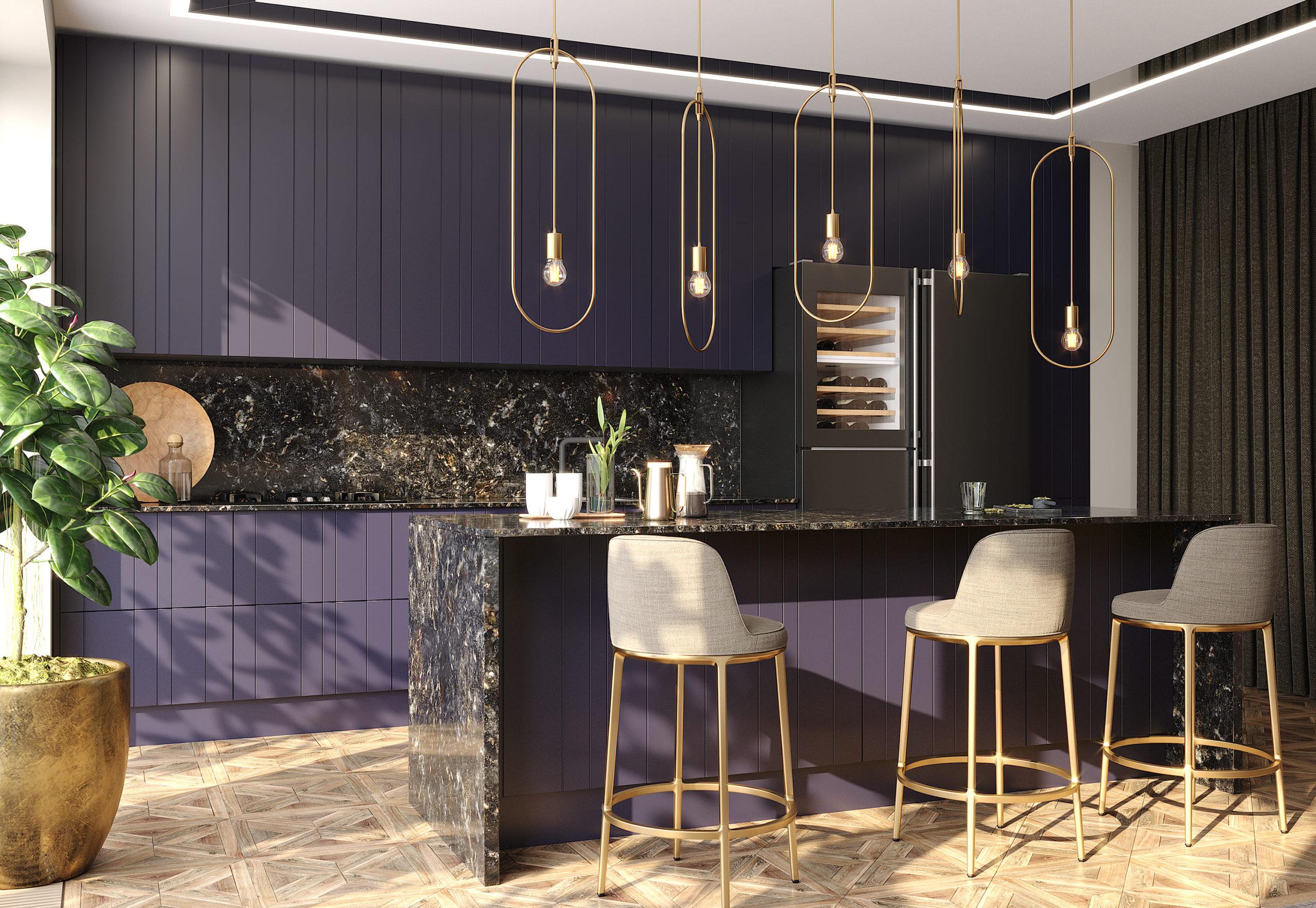 Кухня Interium Модерн.139 - барная стойка