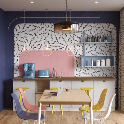 Кухня Interium Модерн.141 - дизайн
