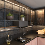 Кухня Interium Модерн.117 - подсветка