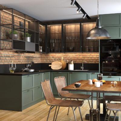 Кухня Interium Модерн.117 - стильное решение