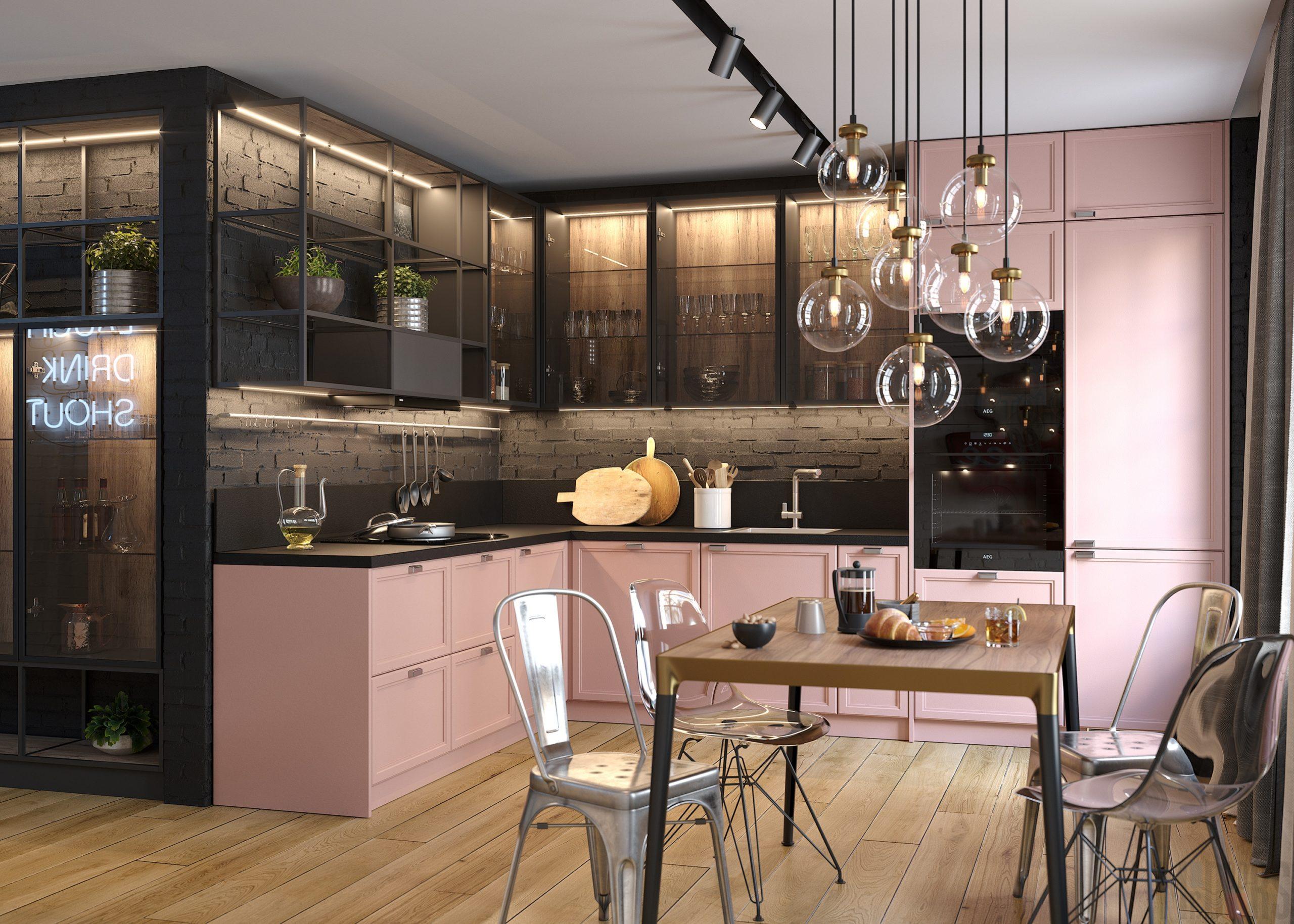 Кухня Interium Модерн.117 - интерьер
