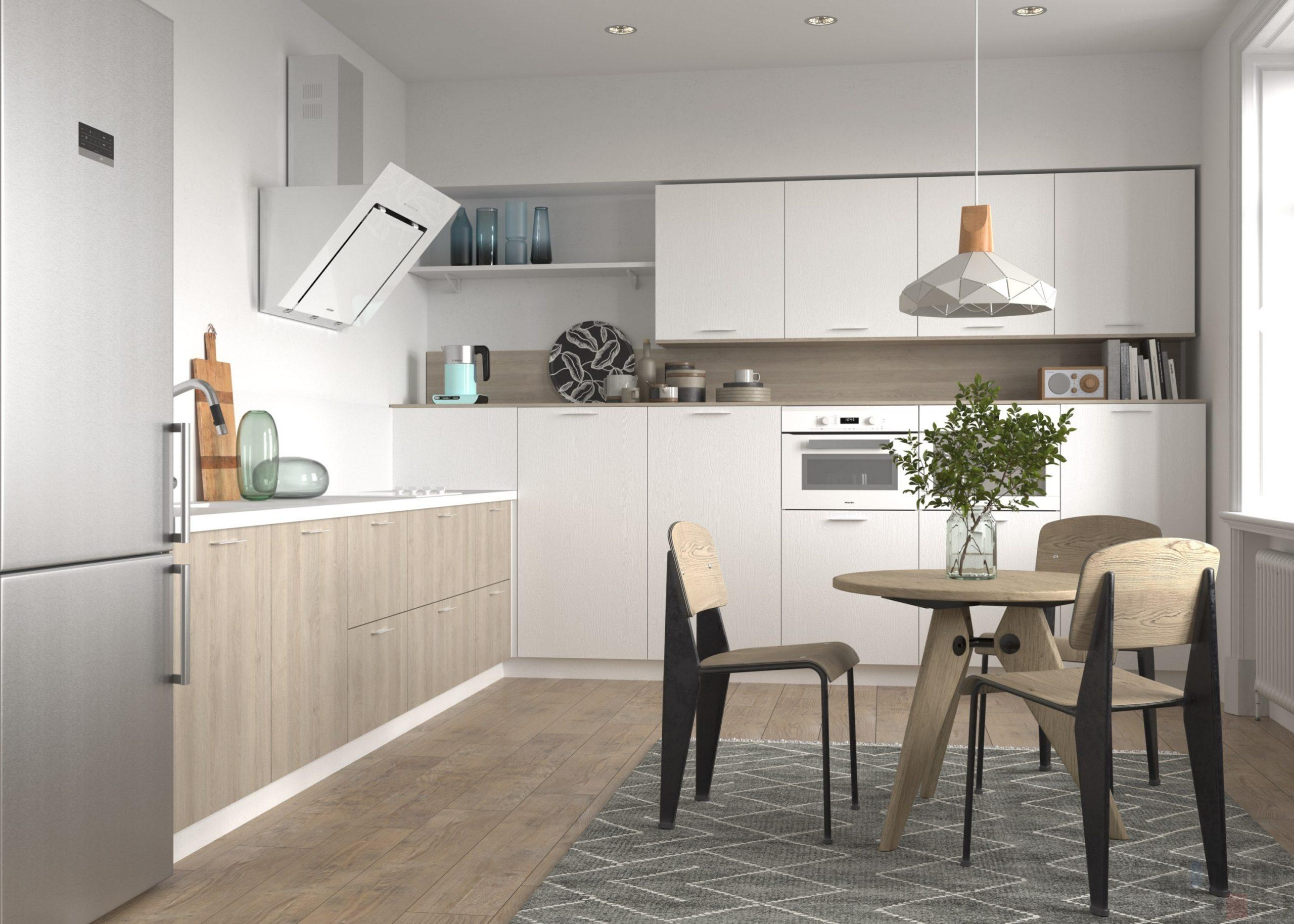 Кухня Interium Модерн.122 - дизайн интерьера