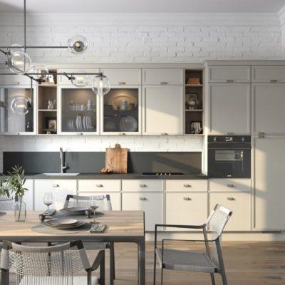 Кухня Interium Модерн.115 в стиле Урбан