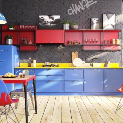 Кухня Interium Модерн.123 - яркий дизайн