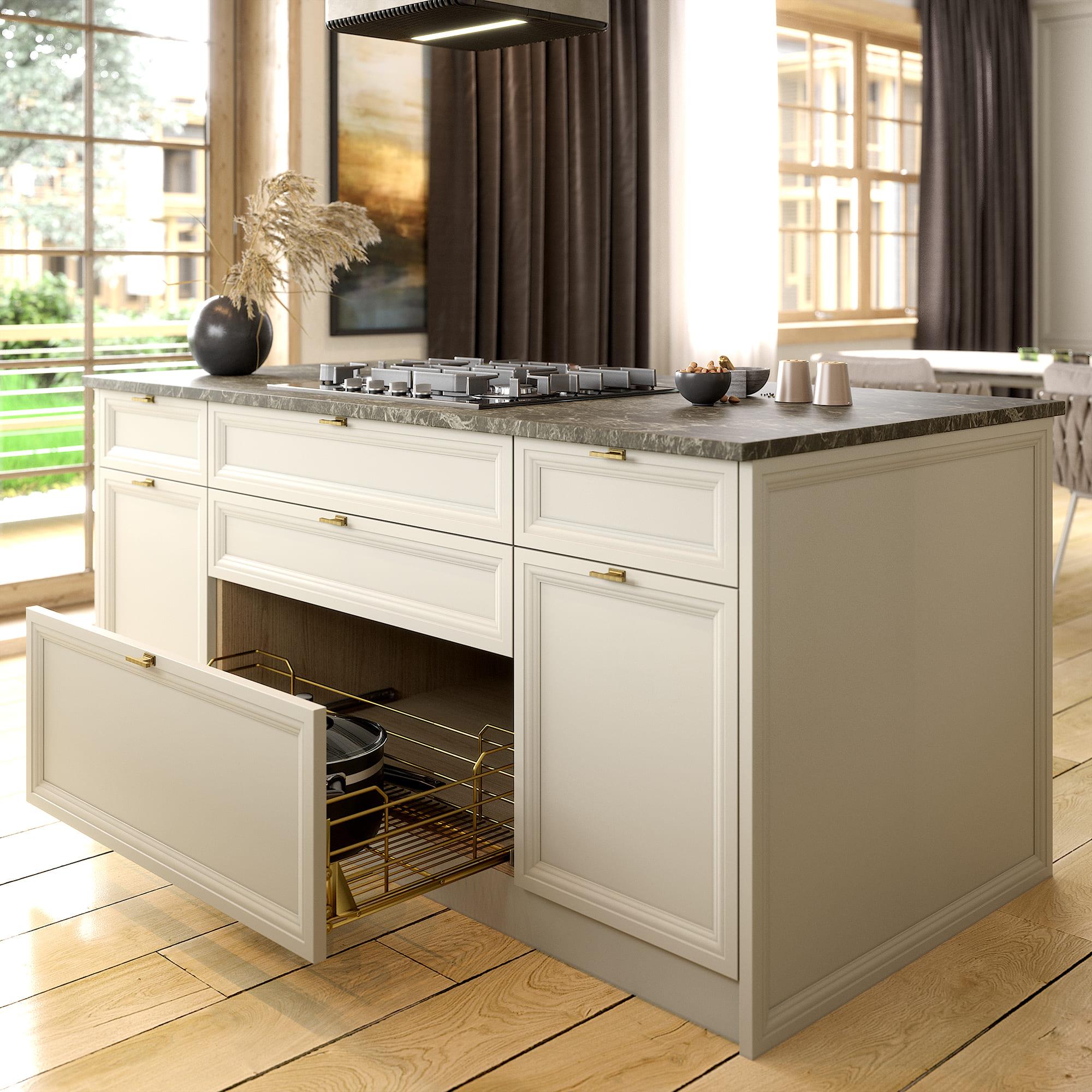 Кухня Interium Модерн.130 - вместительные ящики