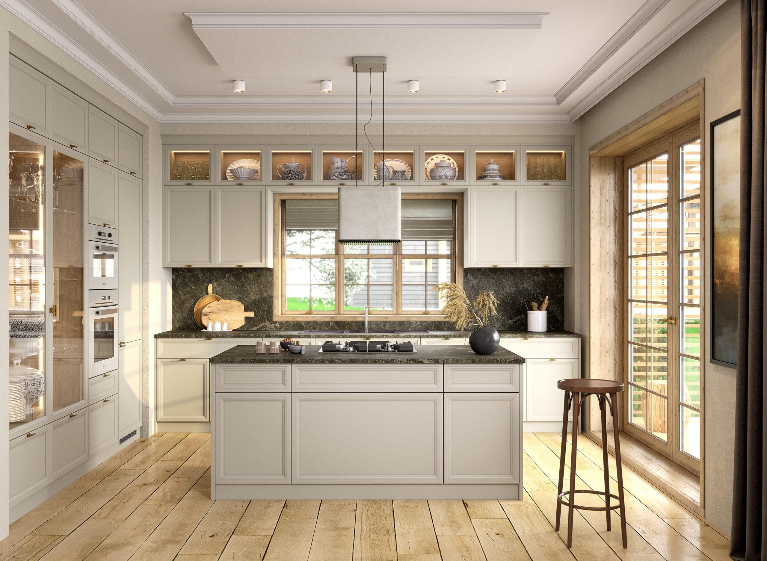 Кухня Interium Модерн.130 - в светлых тонах