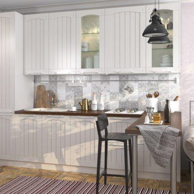 Кухня Interium Модерн.68 - дизайн мини-кухни