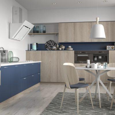 Кухня Interium Модерн.125 в скандинавском стиле