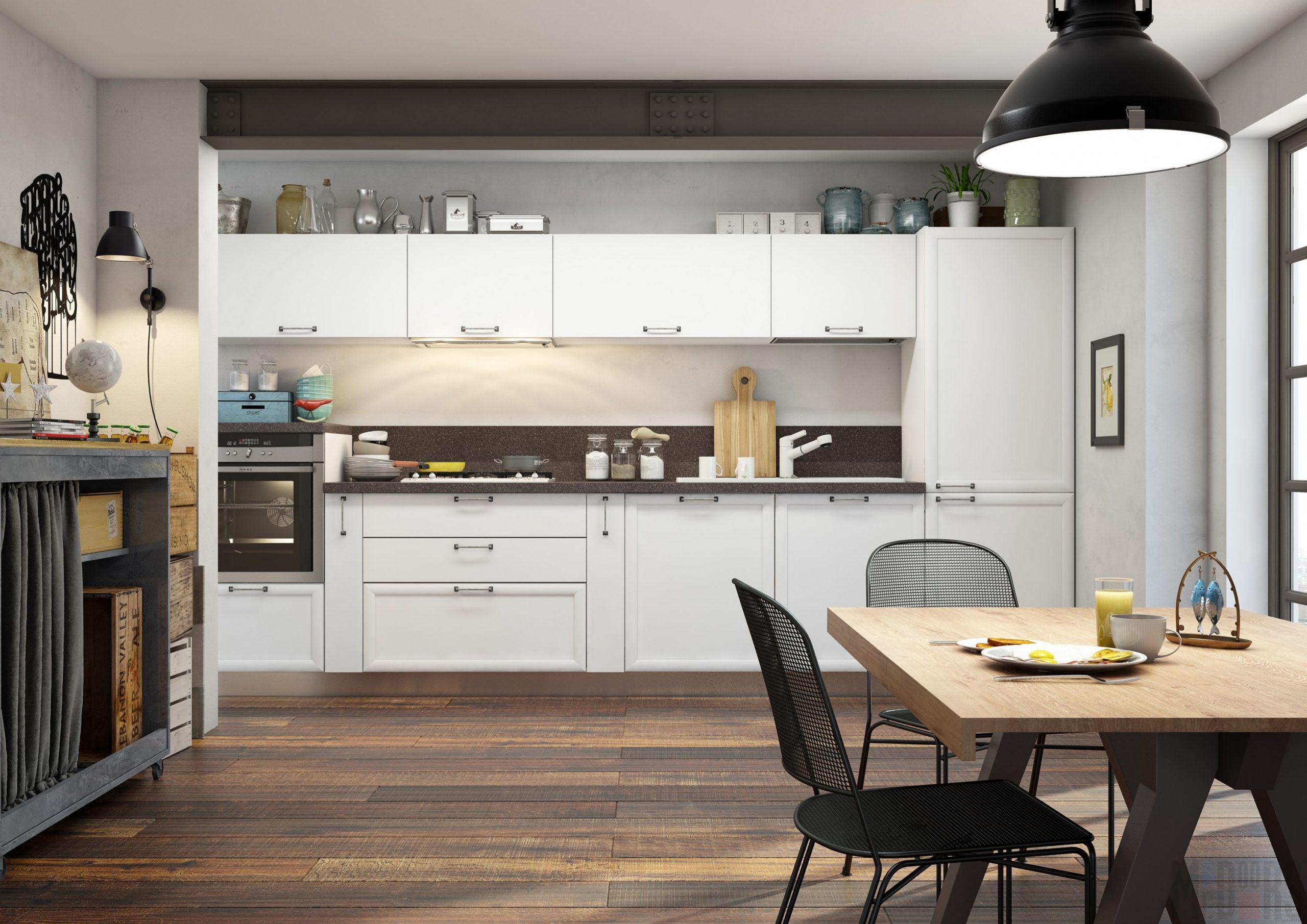 Кухня Interium Модерн.10 - общий внешний вид