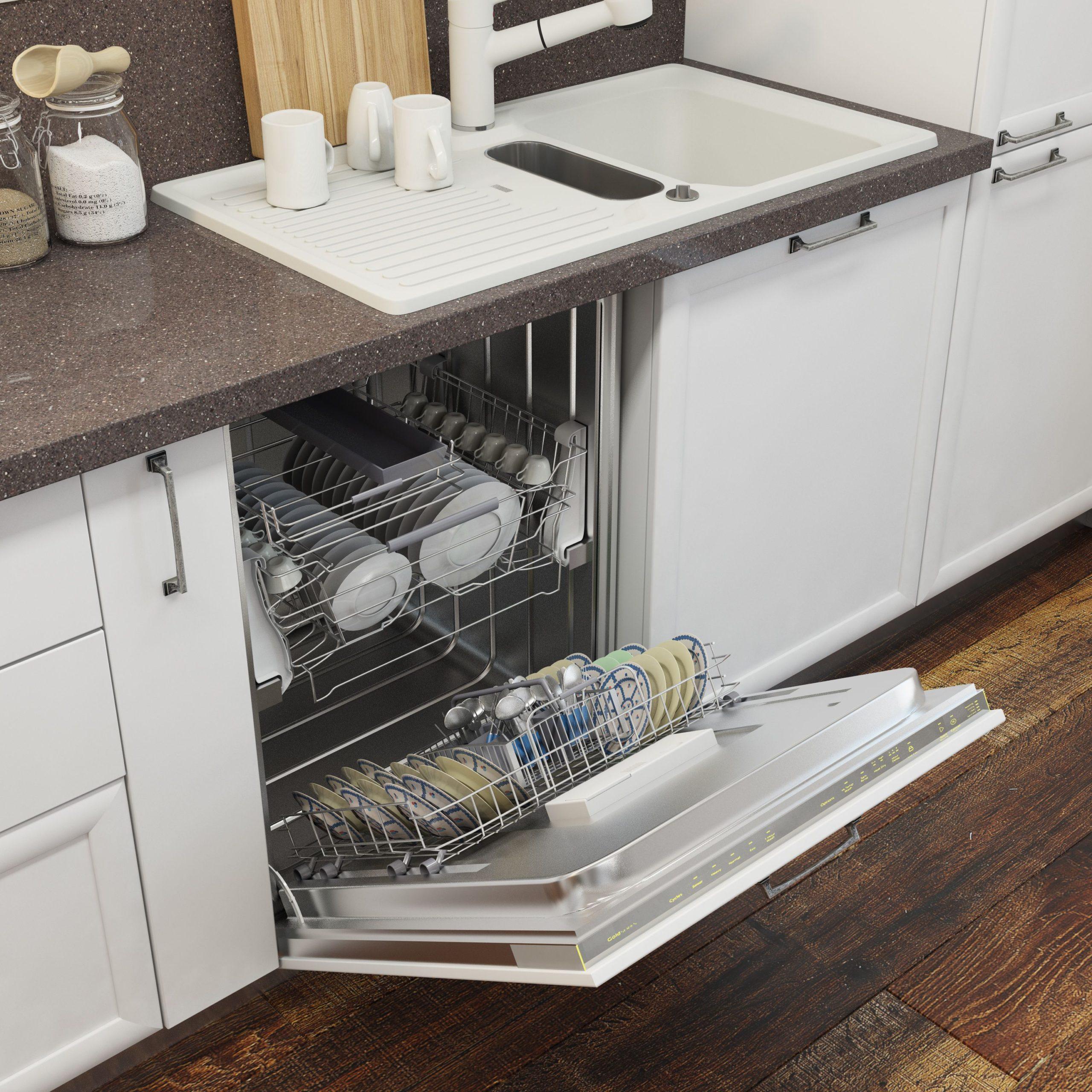 Кухня Interium Модерн.10 - посудомойка под раковиной