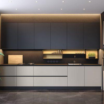 Кухня Interium Модерн.143 - современный дизайн