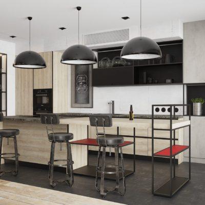 Кухня Interium Модерн.149 - дизайн